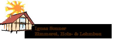 Zimmerei Sonner Logo